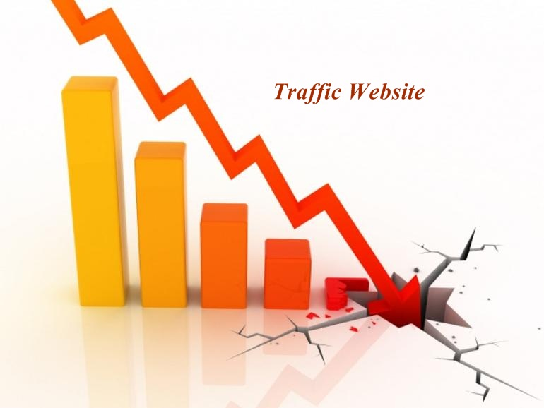 Traffic website giảm mạnh